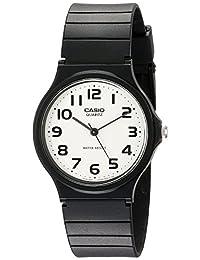 Casio Men's MQ24-7B2 Analog Watch with Black Resin Band