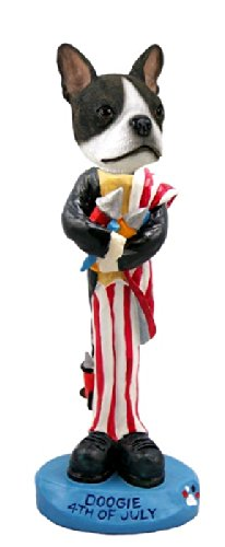 Boston Terrier 4th Of July Doogie Collectable ()