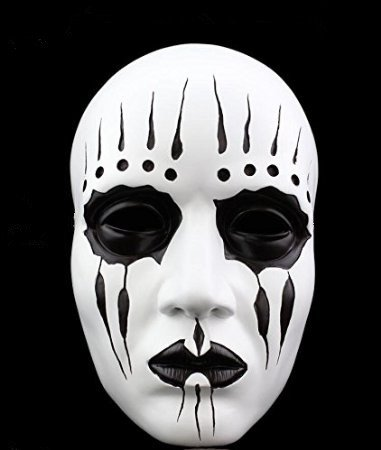 [ASSIS Halloween Festival Costume Horrible Mask Movie Replica Slipknot Joey Evil theme Resin Mask] (Political Couple Costumes)