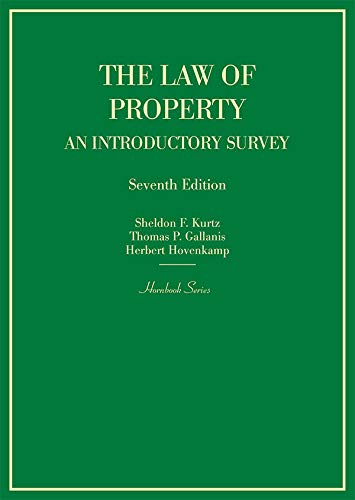 The Law of Property: An Introductory Survey (Hornbooks)