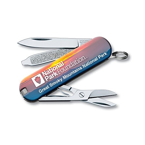 Victorinox Swiss Army Classic SD Pocket Knife, Great Smoky Mountains National Park