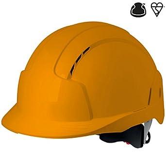 JSP AJB170-000-800 Evoolite - Casco de trinquete con ventilación, color naranja: Amazon.es: Amazon.es