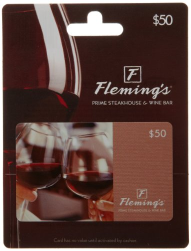 Fleming's Gift Card $50 (Wine Gift Cards)