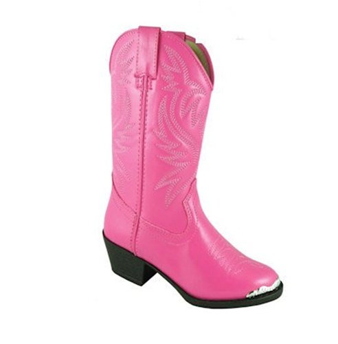 Smoky Mountain Kids Western Mesquite Boots - Hot Pink Toddler 6.5