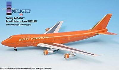 Braniff International Ultra 747-200 (1:200)