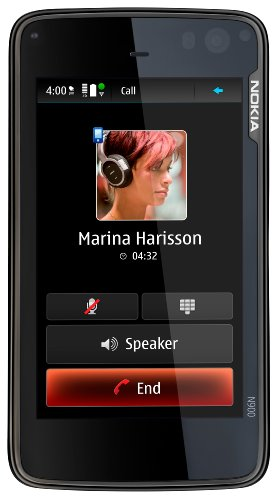 Nokia N900 Unlocked Phone/Mobile Computer with 3.5-Inch Touc