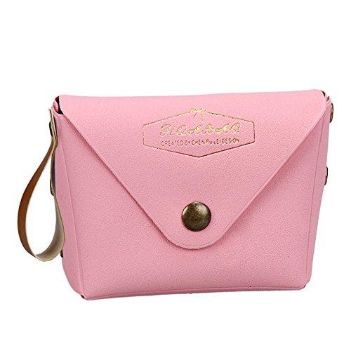 Elenco Conveniente Di Da Nuovo Donna Mini Portamonete Serie Studente Macaron Borsa Pacchetto Pink Moda Ansenesna X1IxwU7x