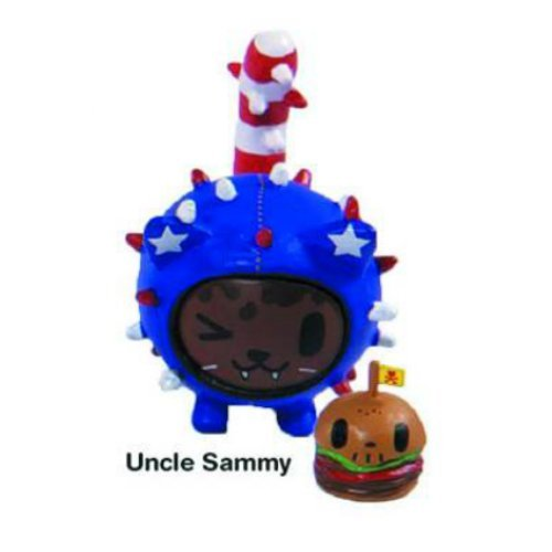 (Uncle Sammy Cactus Kitties Vinyl Figure Tokidoki Cactus Friends Simone Legno)