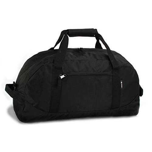 J World New York Lawrence 24 Inch Duffel Bag, Black