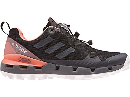 adidas Terrex Fast GTX Surround W, Chaussures de Randonnée Hautes Femme Noir (Cblack/grefiv/chacor)