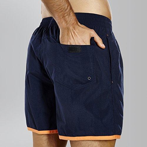 Y Deportes Speedo Para Acuáticos Block Pantalón Azul Hombres Corto Oscuro Naranja Uzw1OHwx