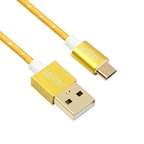WEme Micro USB Cables 1m / 3.28ft, High Speed U...
