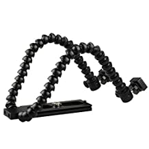 iwish Universal Alloy Material Flexible Dual-arm/Twin-arm/hot Shoe Flash Bracket MACRO SHOT For NIKON