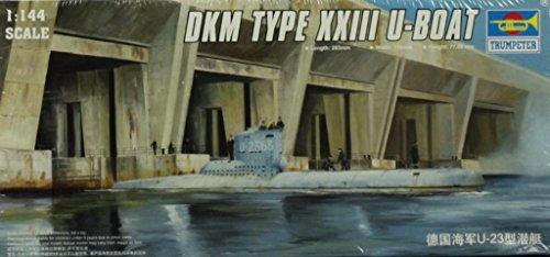 Trumpeter 1:144 DKM Type XXIII U-Boat Submarien U-23 German Plastic Kit #05907