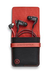 Plantronics BackBeat Go 2 Wireless Hi-Fi Earbud Headphones with Charging Case - Compatible with iPhone and other Smart Devices - Black
