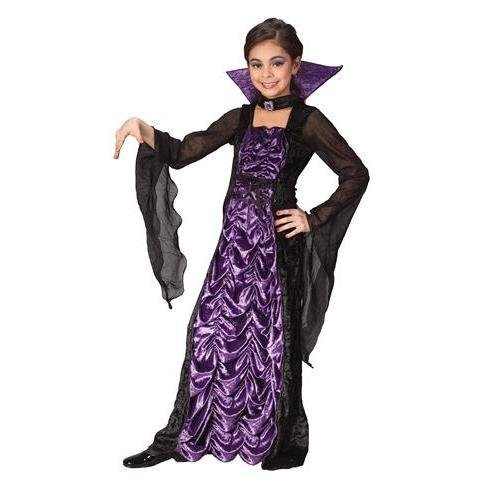 Fun World Countess of Darkness Child Costume (Small) Purple