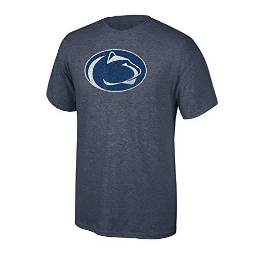 (Elite Fan Shop NCAA Men's Penn State Nittany Lions T Shirt Charcoal Vintage Penn State Nittany Lions Charcoal)