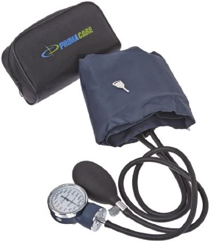 Primacare DS-9193 Aneroid Sphygmomanometer with Large Adult-Size Cuff