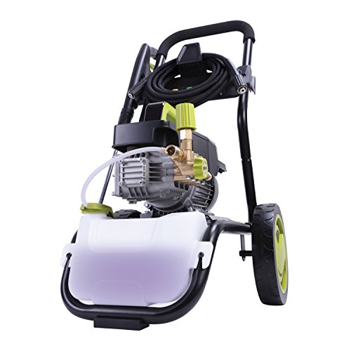 Sun Joe SPX9008-PRO 2.41 HP 1800 PSI 1.6 GPM Commercial Pressure Washer with Roll Cage