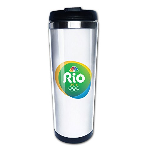 Olympics 2018 Brazil Poster Travel Mugs Coffee Tumbler Cute - Strange Sports Olympic