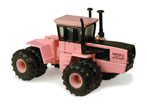 Pink Tractor (Ertl Steiger Pink Panther Series III Tractor, 1:64)