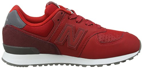 New Balance Gc574v1g Zapatillas Rojo Niños Unisex black red P7SPrwqg