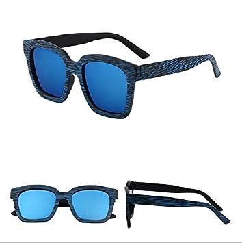 Sunyan Lunettes de soleil femme étoile des nouvelles lunettes de soleil homme élégant,film vert