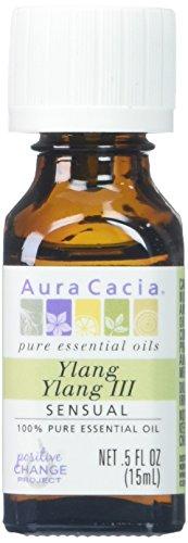 Aura Cacia 100% Pure Essential Oil Ylang Ylang -- 0.5 fl oz