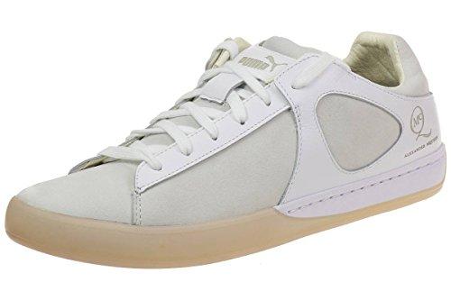 Puma McQ Climb Lo by Alexander McQueen Mens Sneaker white leahter