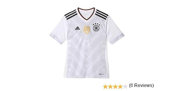 adidas DFB Heim - Camiseta Oficial 1ª Equipación Federación Alemana de Fútbol Niños: Amazon.es: Ropa y accesorios