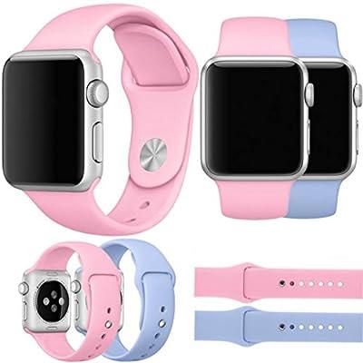 For Apple Watch Band,DDLBiz Fashion Sports Silicone Bracelet Strap Band for Apple Watch 42mm by DDLBiz