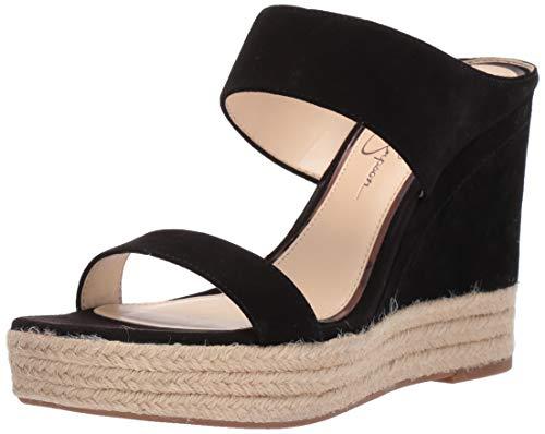 Jessica Simpson Women's Siera Sandal, Black, 9 M ()