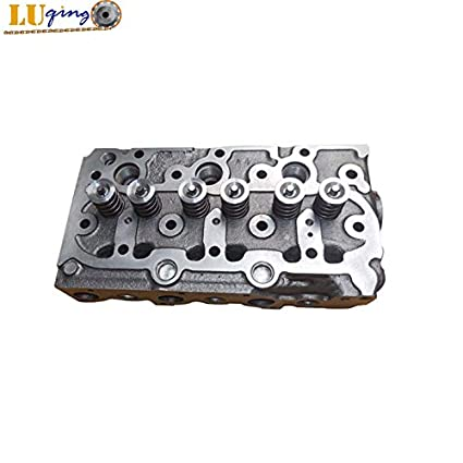 Amazon com: New For Kubota D750 D750-B Cylinder Head With Valves For