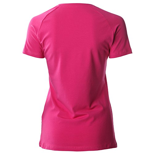 Asics Ladies Essentiel Solide S/S Tee - Rose