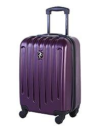 Atlantic Aero Glide Hardside Spinner United States Carry-on Luggage 21.5-Inch, Purple