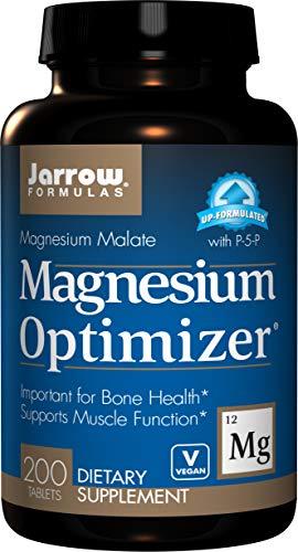 Jarrow Formulas Magnesium Optimizer, Important for Bone Health, 200 Tablets