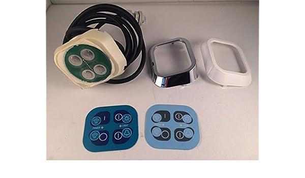 Vitaviva – Panel de Control Sauna + Alarma mampara de Ducha Botones de y 498967: Amazon.es: Hogar