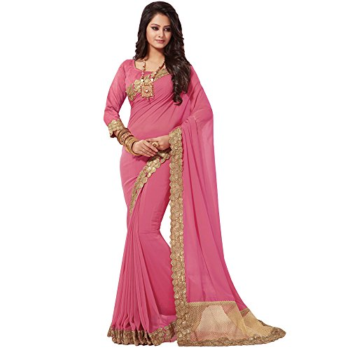 Shree-Designer-Sarees-Womens-Georgette-Sarees-With-Multiple-Colors-Designs