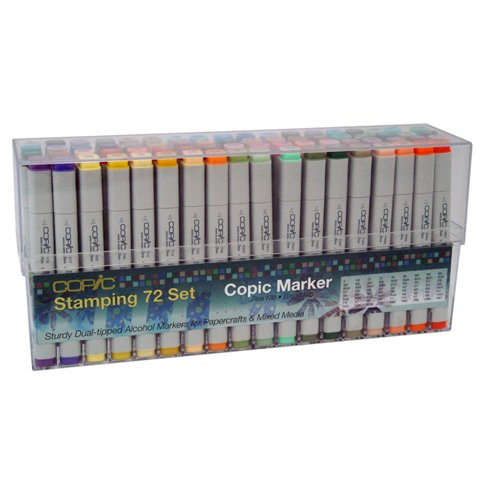 Copic ORIGINAL Set of 72 Papercrafting Markers - SET A by COPIC
