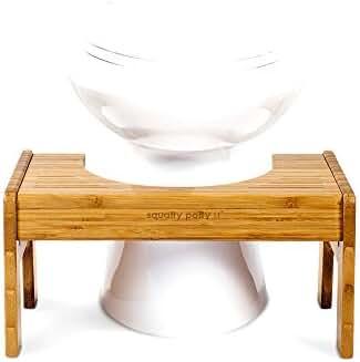 Tao Bamboo Adjustable Toilet Stool for Effortless Bowel