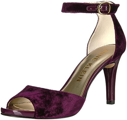 AK Anne Klein Sport Women's Opalize Velvet Pump, Purple, 9 M - Purple Women Pump