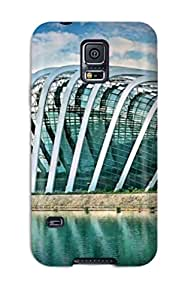Premium 3d Architecture Heavy-duty Protection Case For Galaxy S5