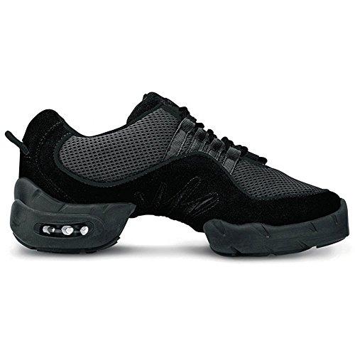 Bloch Women's Boost DRT Fashion Dance Shoes, Black Mesh, 12.5 X by Bloch