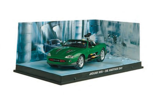 007 Bone in Motion The Official James Bond Diecast Collection and Magazine #3 Jaguar XKR Die Another Day Jaguar Xkr James Bond