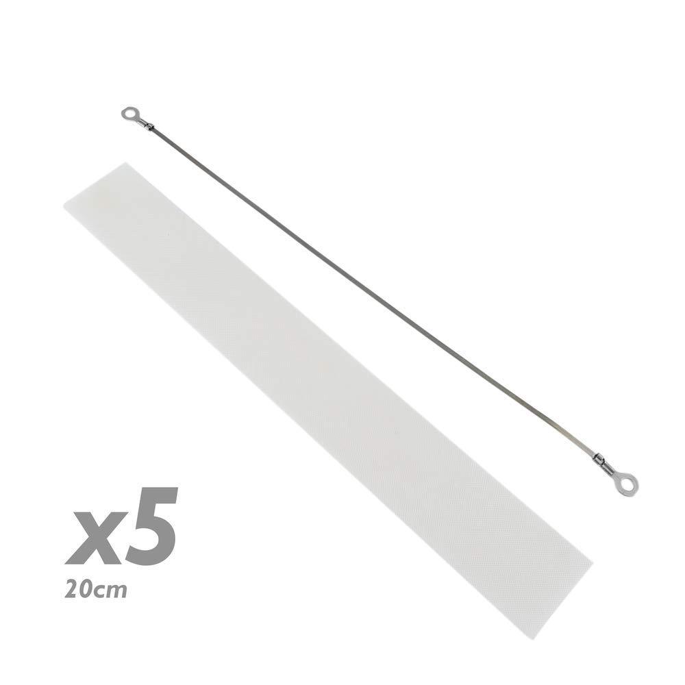 PrimeMatik - Resistencia de Recambio para selladora térmica de 20 cm 5 Pack product image