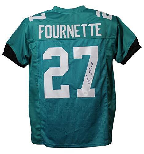 Leonard Fournette Autographed/Signed Jacksonville Jaguars XL Jersey JSA