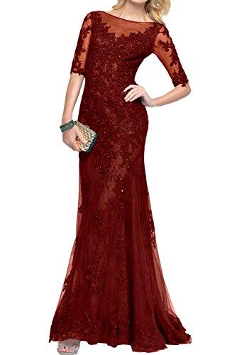Ivydressing - Vestido - para mujer borgoña