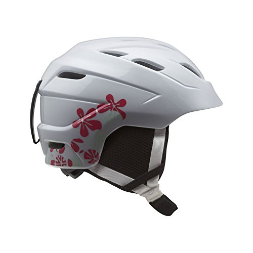Giro Nine.10 Jr Childrens Snowboard Ski Helmet White Flower Dot Small