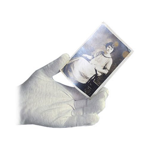 Oil Archival (Archival Methods 61-002 White Cotton Gloves Large 12 Pairs)