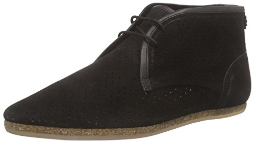 Hudson London Datar Herren Chukka Boots Schwarz (Black)